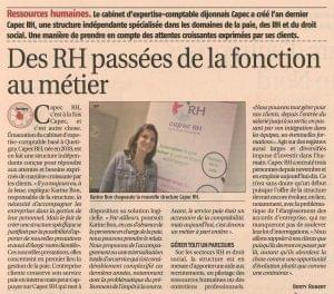CAPEC RH article journal du palais Dijon